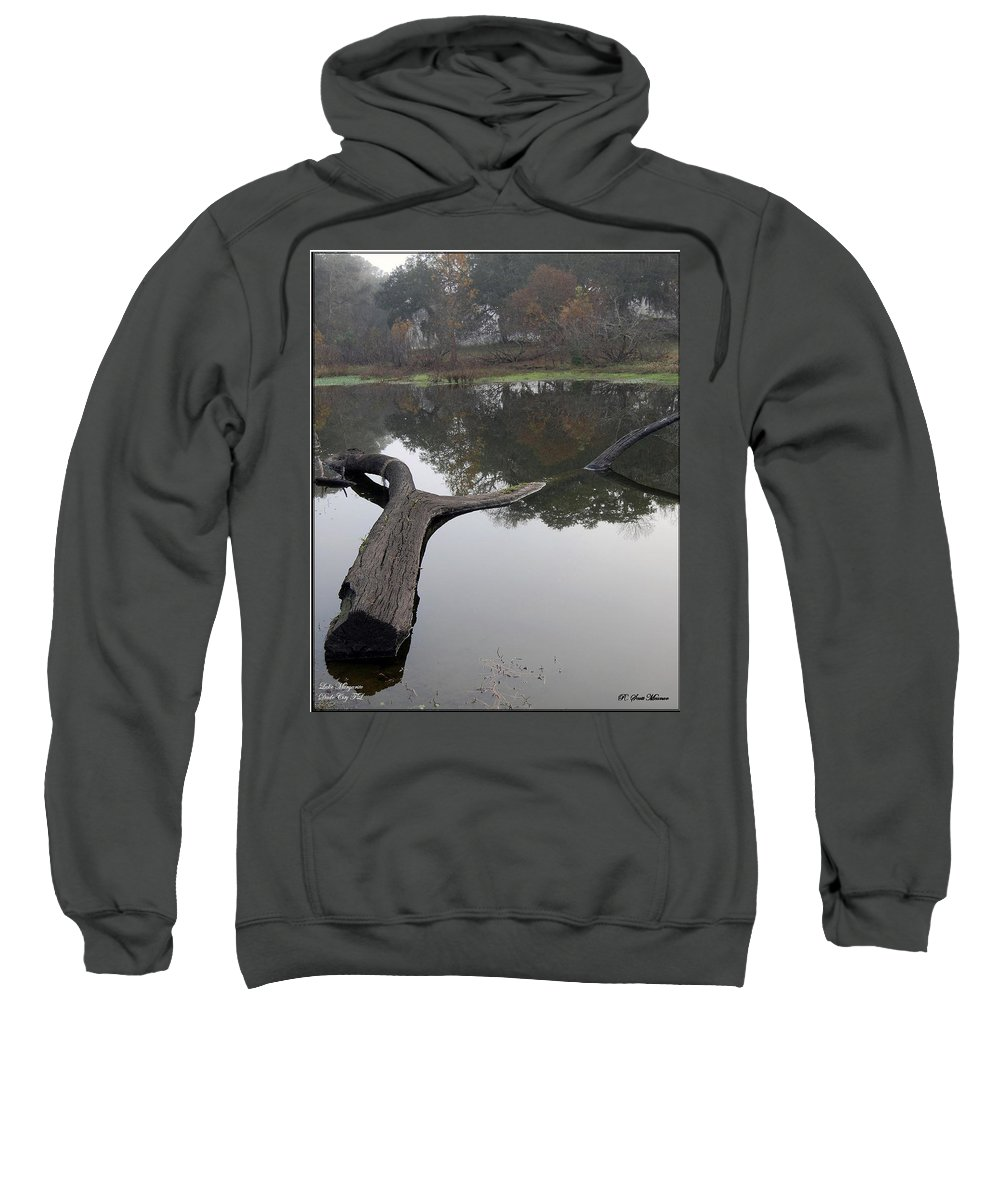 Lake Sweatshirt featuring the photograph Lake Margerite by Robert Meanor