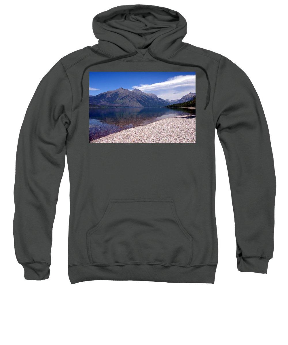 Glacier National Park Sweatshirt featuring the photograph Lake Mcdonald Reflection Glacier National Park 4 by Marty Koch