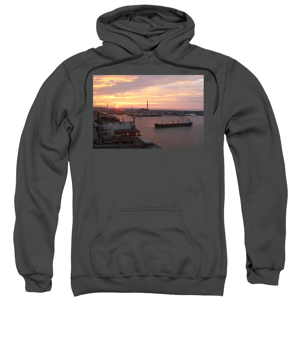 Lisa Knechtel Sweatshirt featuring the photograph Lake Ontario Dawning by Lisa Knechtel