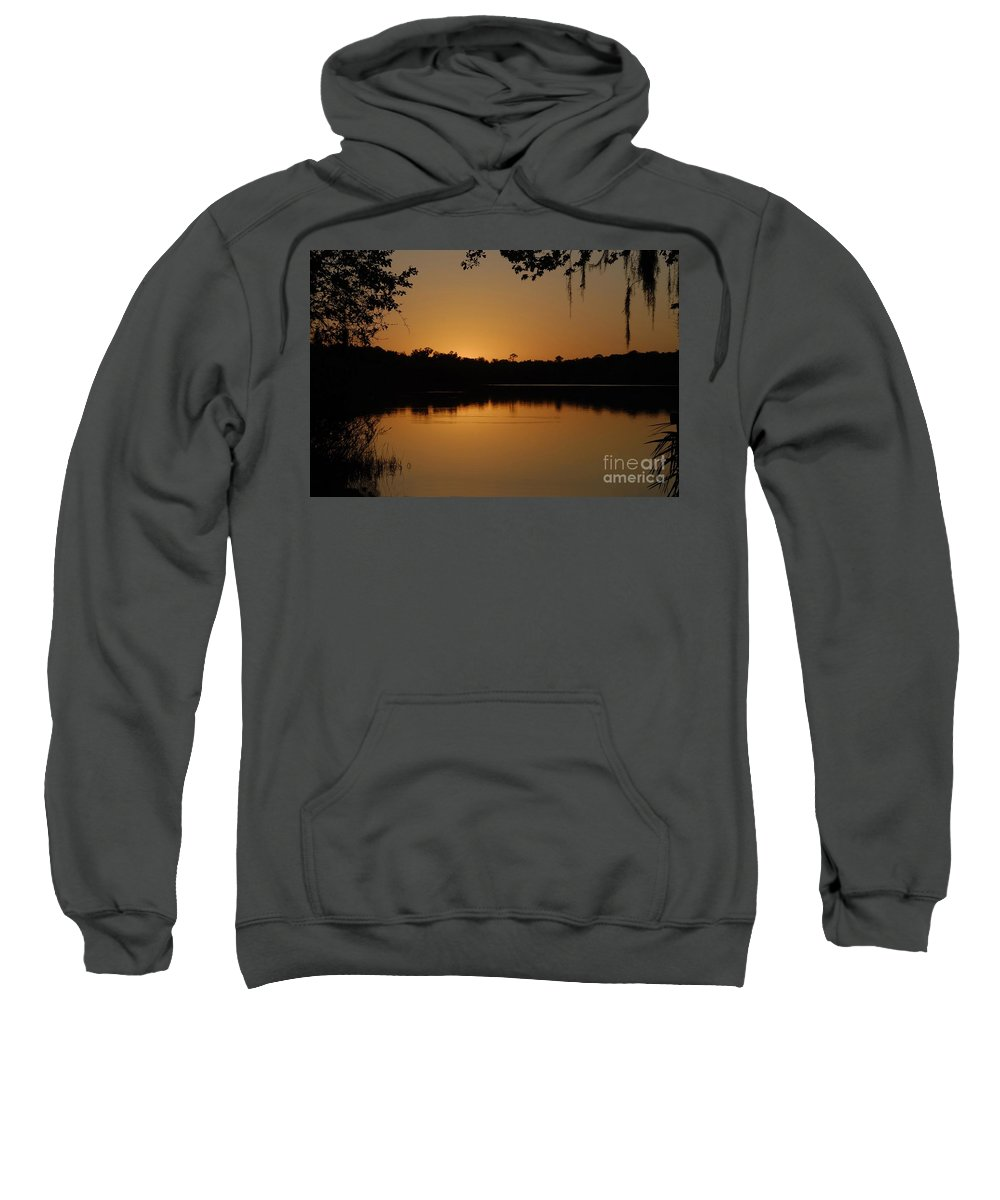Lake Sweatshirt featuring the photograph Lake Reflections by David Lee Thompson