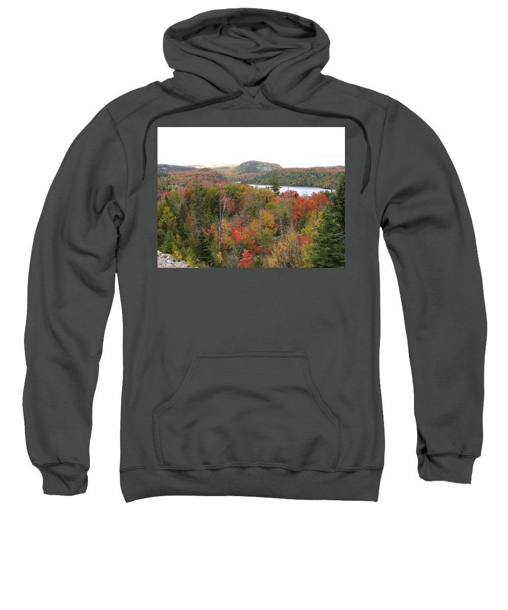 Fall Sweatshirt featuring the photograph Lakeside by Kelly Mezzapelle