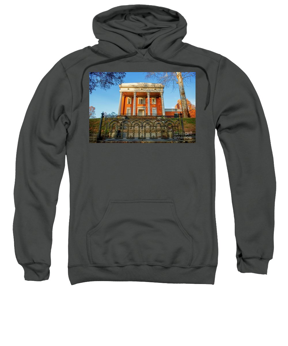 Madison Indiana Sweatshirt featuring the photograph Lanier Mansion by David Arment