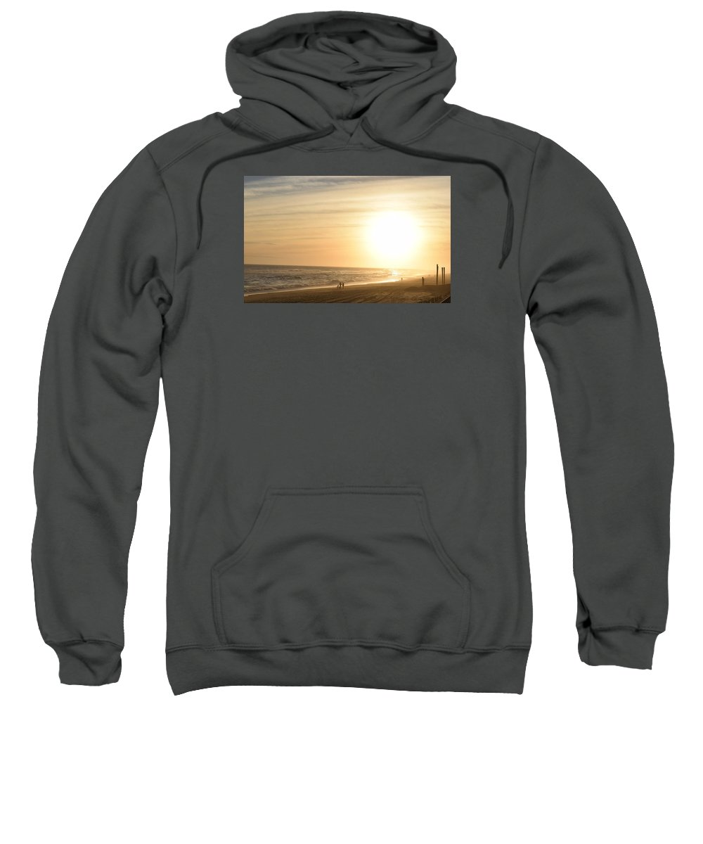 Sunset Sweatshirt featuring the photograph Larger Than Life by Deborah A Andreas
