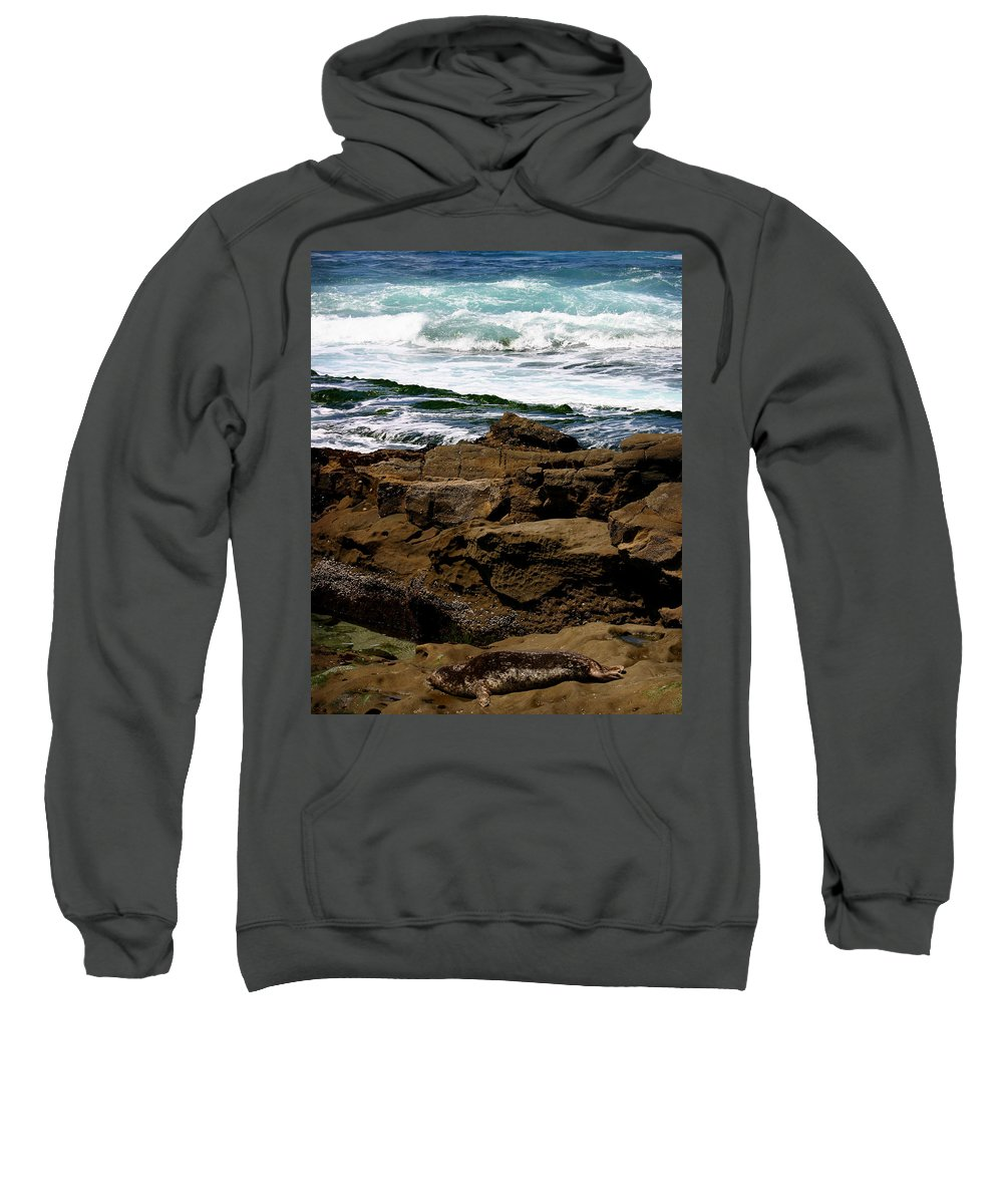 Beach Sweatshirt featuring the photograph Lazy Days by Anthony Jones