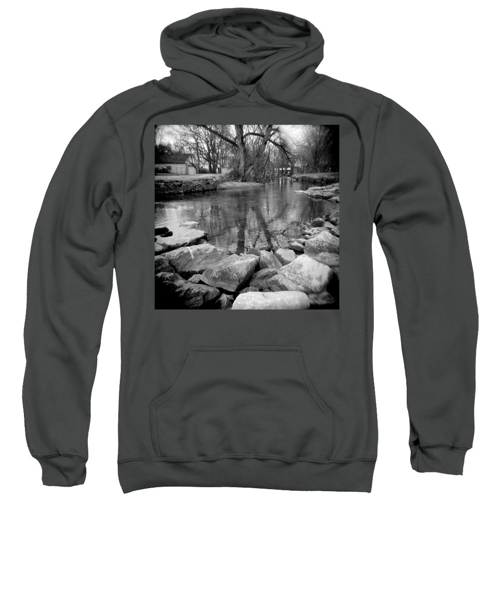 Photograph Sweatshirt featuring the photograph Le Tort Reflection by Jean Macaluso