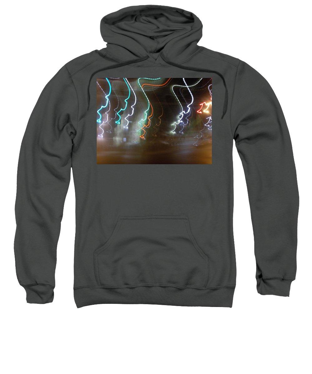 Photograph Sweatshirt featuring the photograph Lemon Street by Thomas Valentine