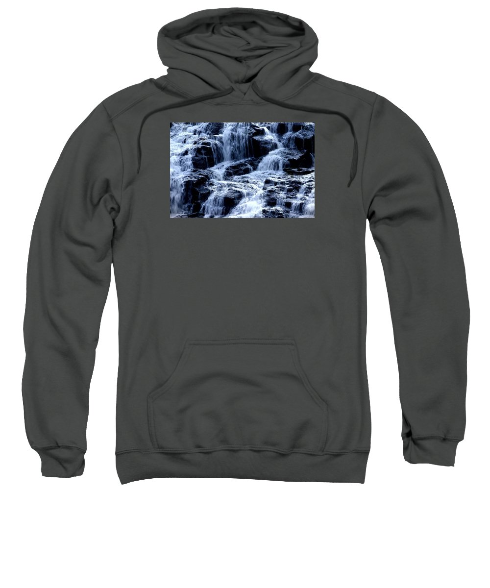 Water Fall Sweatshirt featuring the photograph Levels by Martin Massari