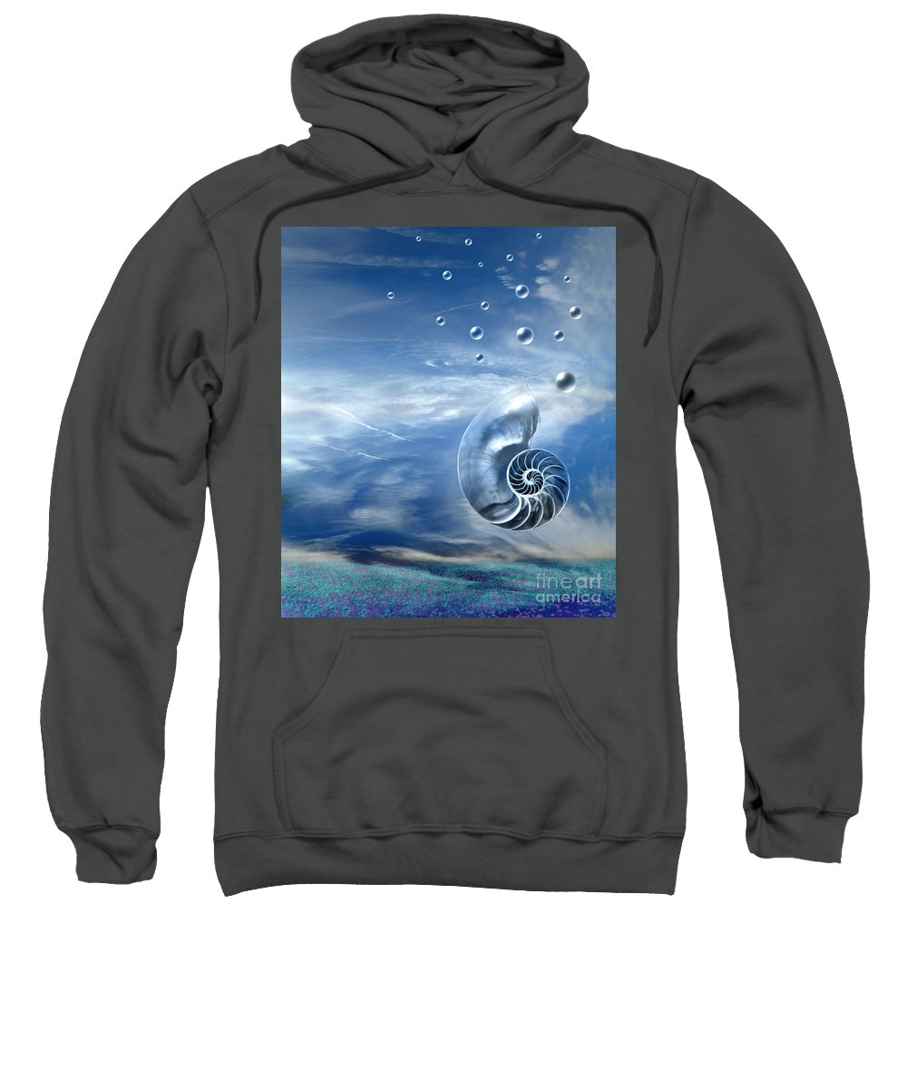 Surreal Sweatshirt featuring the photograph Life by Jacky Gerritsen