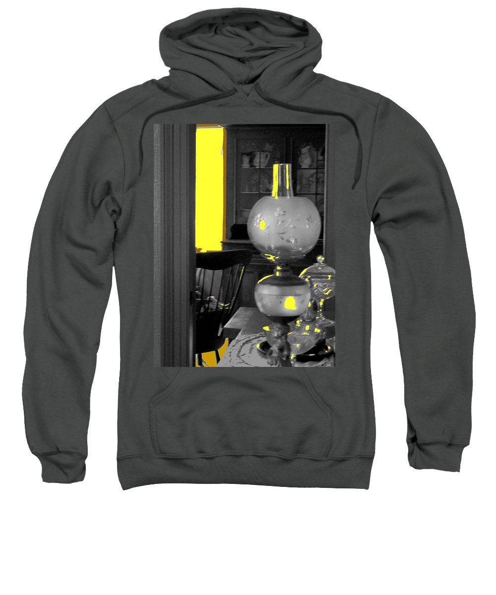 Antiques Sweatshirt featuring the photograph Light Among The Antiques by Ian MacDonald