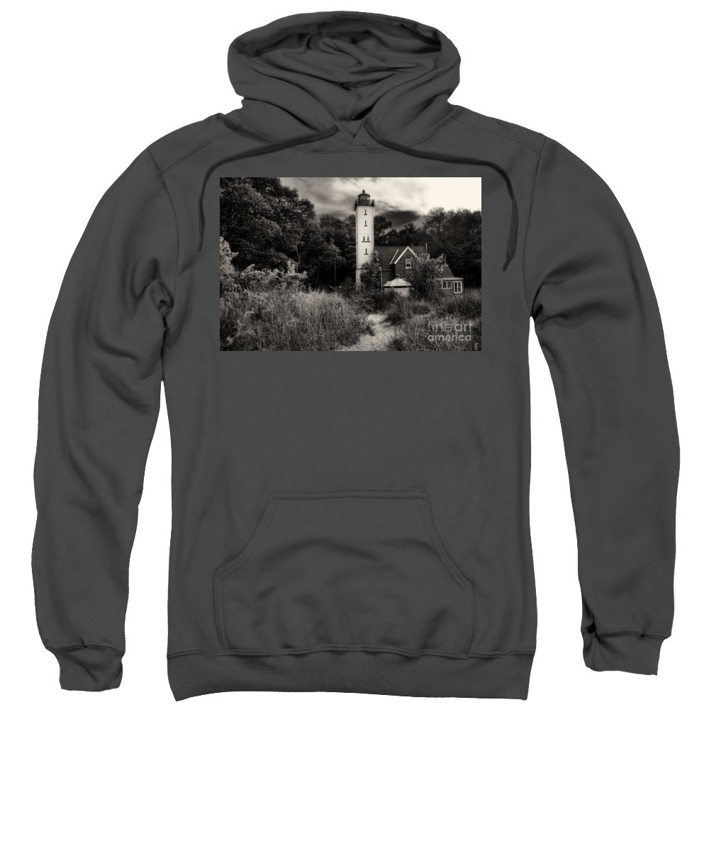 Lighthouse Sweatshirt featuring the photograph Light House by Gaby Swanson