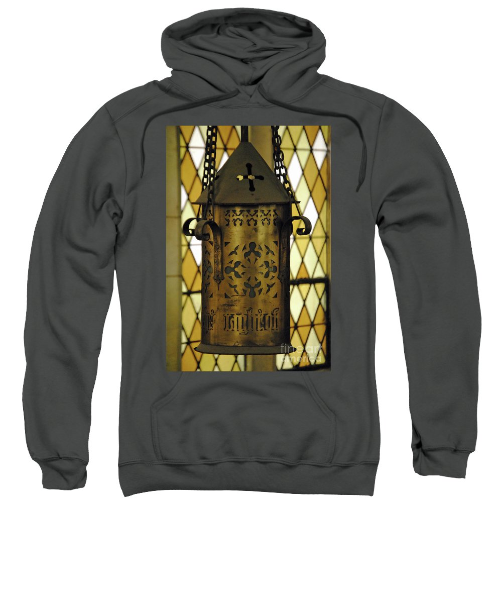Augustana Sweatshirt featuring the photograph Light Of The World by Jost Houk