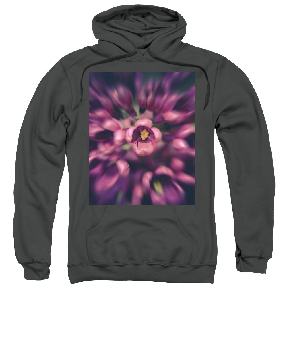 Lilacs Sweatshirt featuring the photograph Lilacs Gone Wild by Debi Bishop