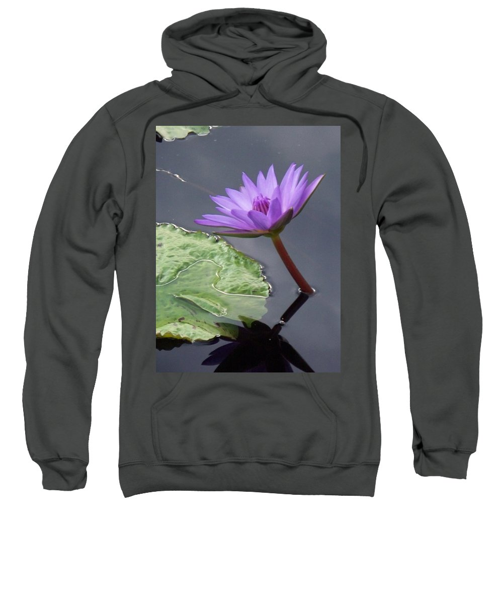 Photograph Sweatshirt featuring the photograph Lily Pond by Eric Schiabor
