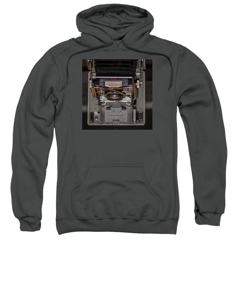 Linhof Sweatshirt featuring the photograph Linhof Top View by Shawn Jeffries