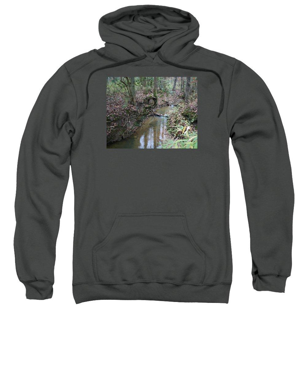 Creek Sweatshirt featuring the photograph Little Creek by Ryan Johnson