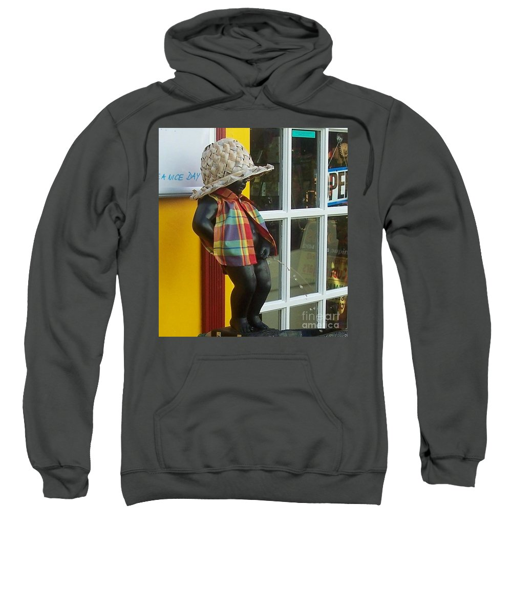 Fountain Sweatshirt featuring the photograph Little Wiz by Debbi Granruth