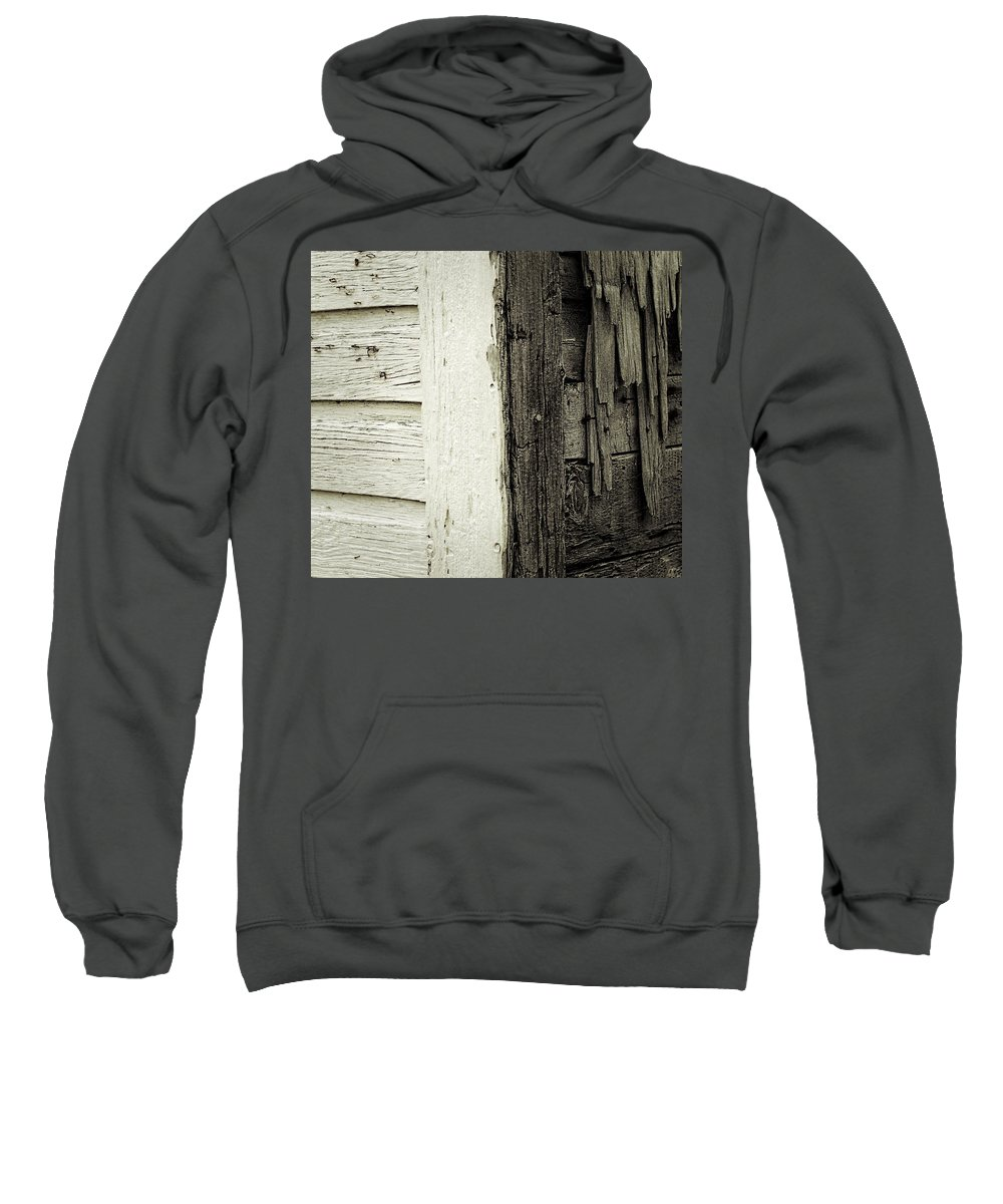 Ramshackle Sweatshirt featuring the photograph Living On The Edge by David Coleman