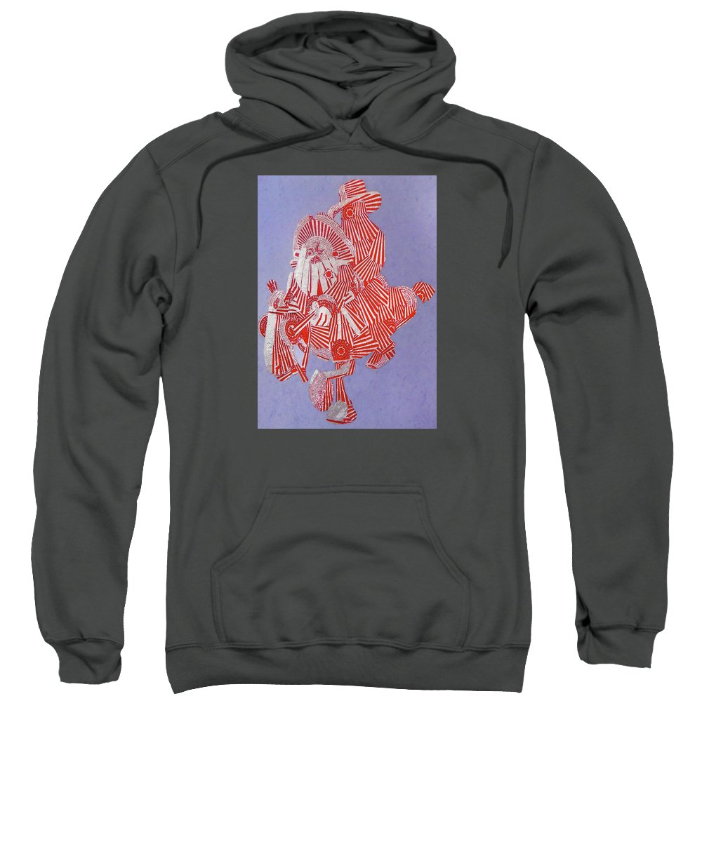 Iconic Scotland Sweatshirt featuring the digital art Lobey Dosser by Joy Bain