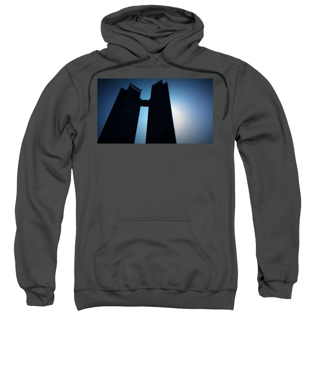 Location Sweatshirt featuring the photograph Location Scouting For The Dark Tower by Mario MJ Perron