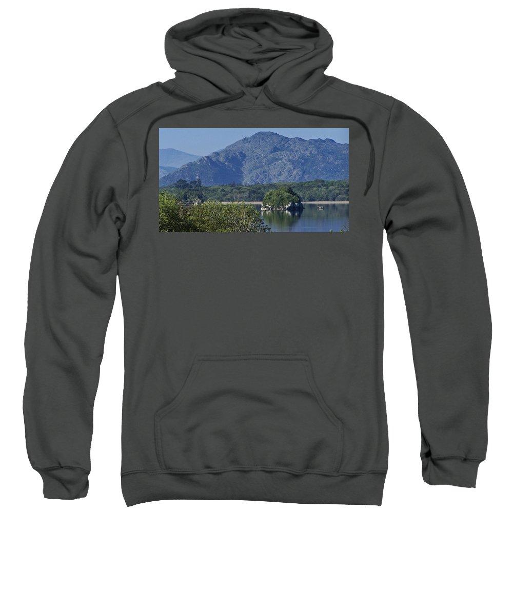 Irish Sweatshirt featuring the photograph Loch Leanne Killarney Ireland by Teresa Mucha