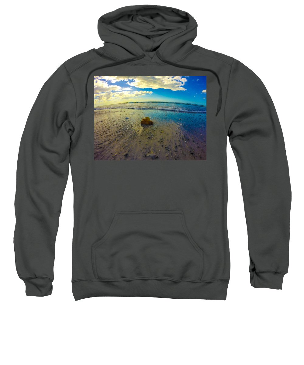 Beach Sweatshirt featuring the photograph Lonely by Amanda Liner