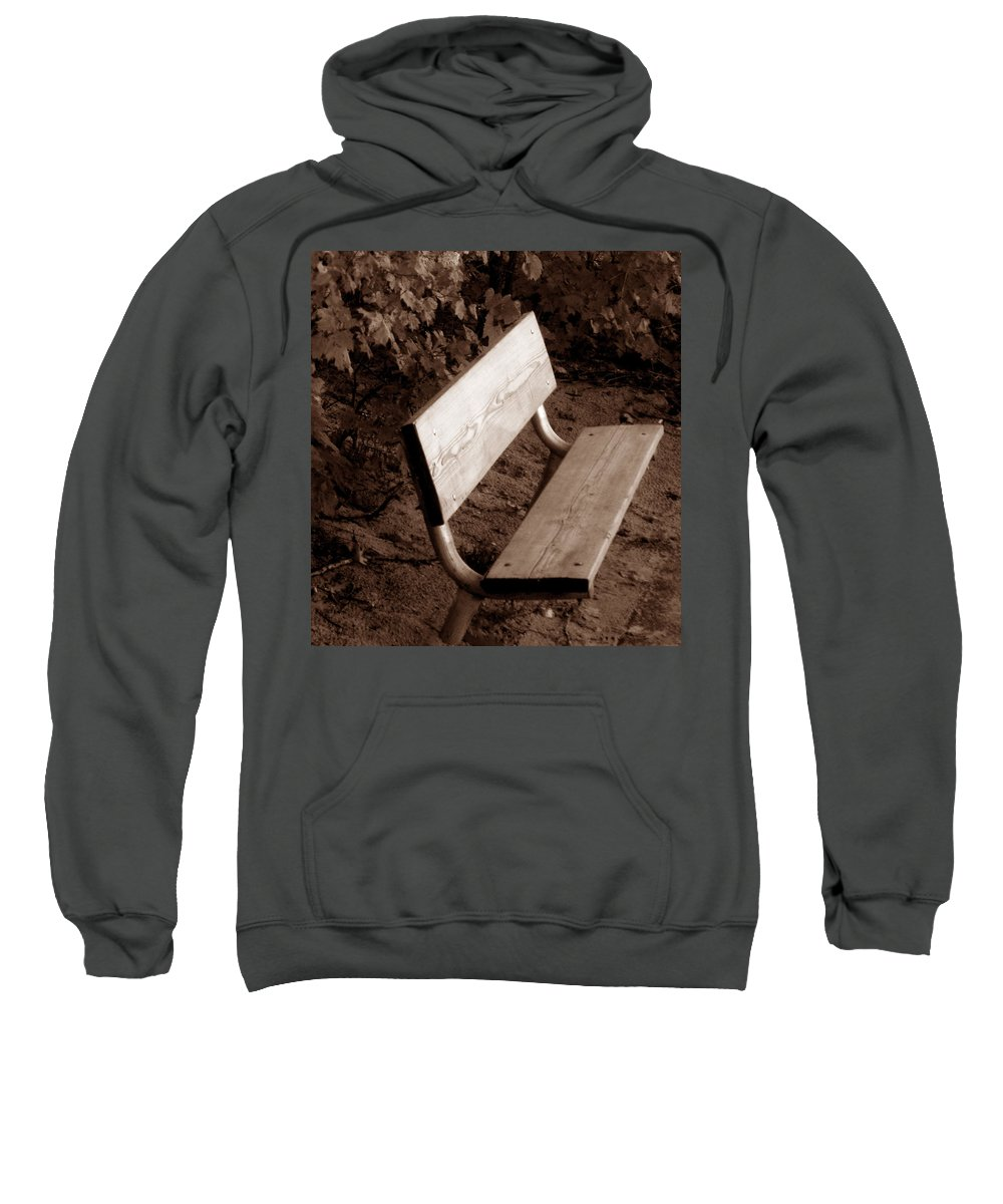 Lonliness Sweatshirt featuring the photograph Lonely by Wayne Potrafka