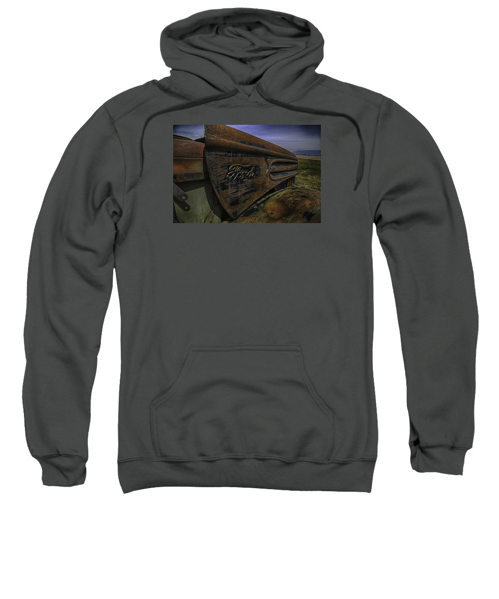 Ford Sweatshirt featuring the photograph Longing For The Road Again by Elizabeth Eldridge
