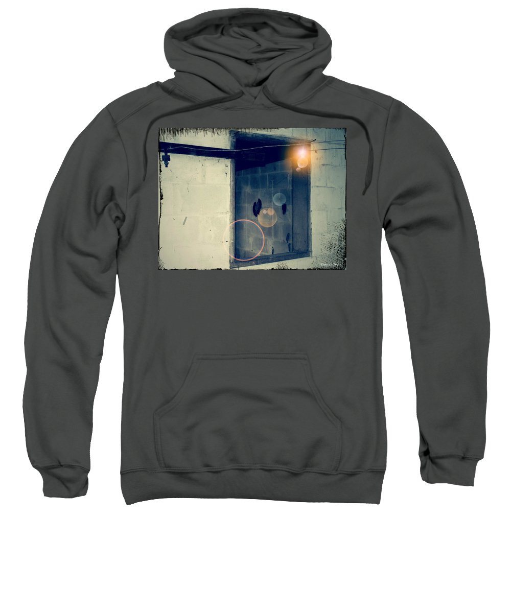 Shannon Sweatshirt featuring the digital art Look Into The Past Of No Remembrance by Shannon Sears