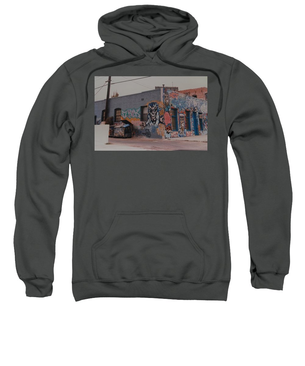 Urban Sweatshirt featuring the photograph Los Angeles Urban Art by Rob Hans