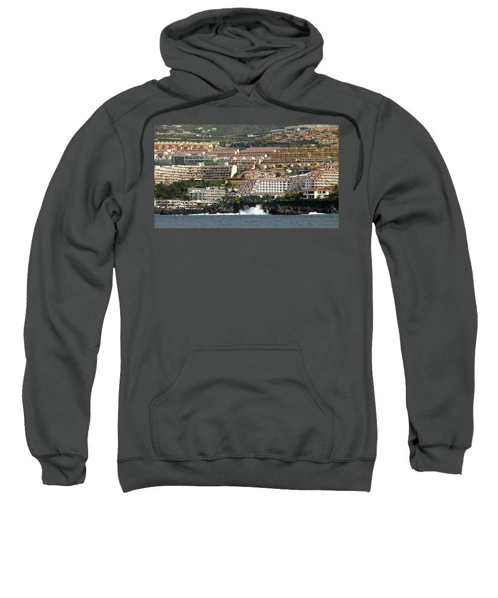 Valasretki Sweatshirt featuring the photograph Los Gigantes From The Sea by Jouko Lehto