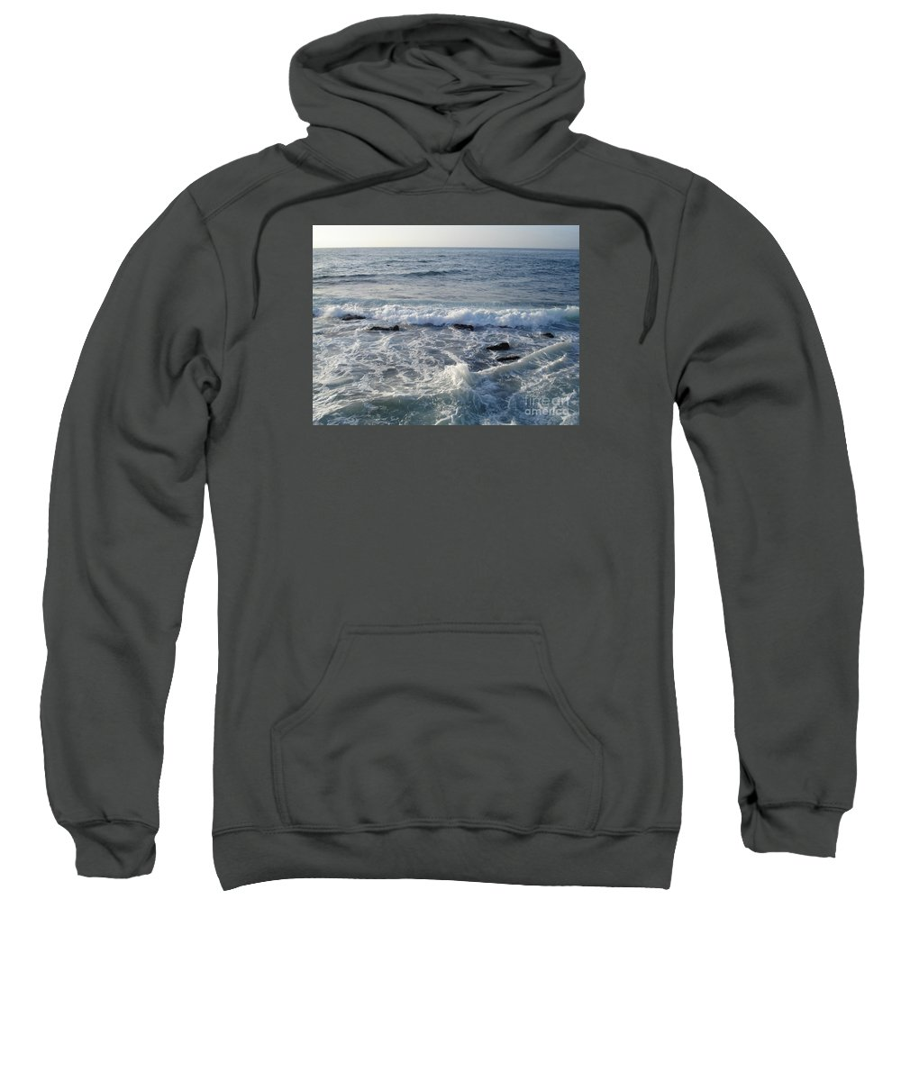Ocean Sweatshirt featuring the photograph Lost At Sea by Madilyn Fox