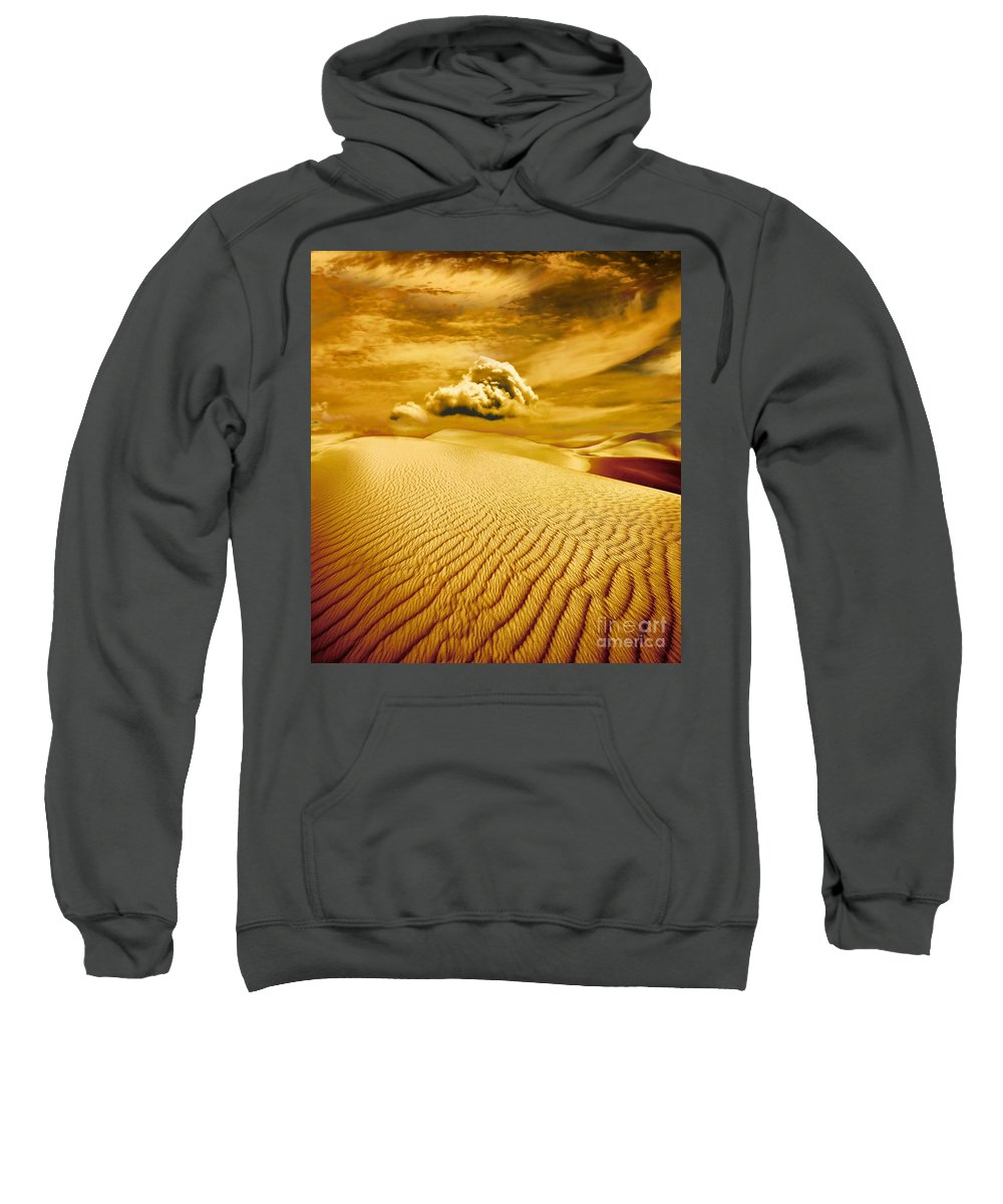 Desert Sweatshirt featuring the photograph Lost Worlds by Jacky Gerritsen