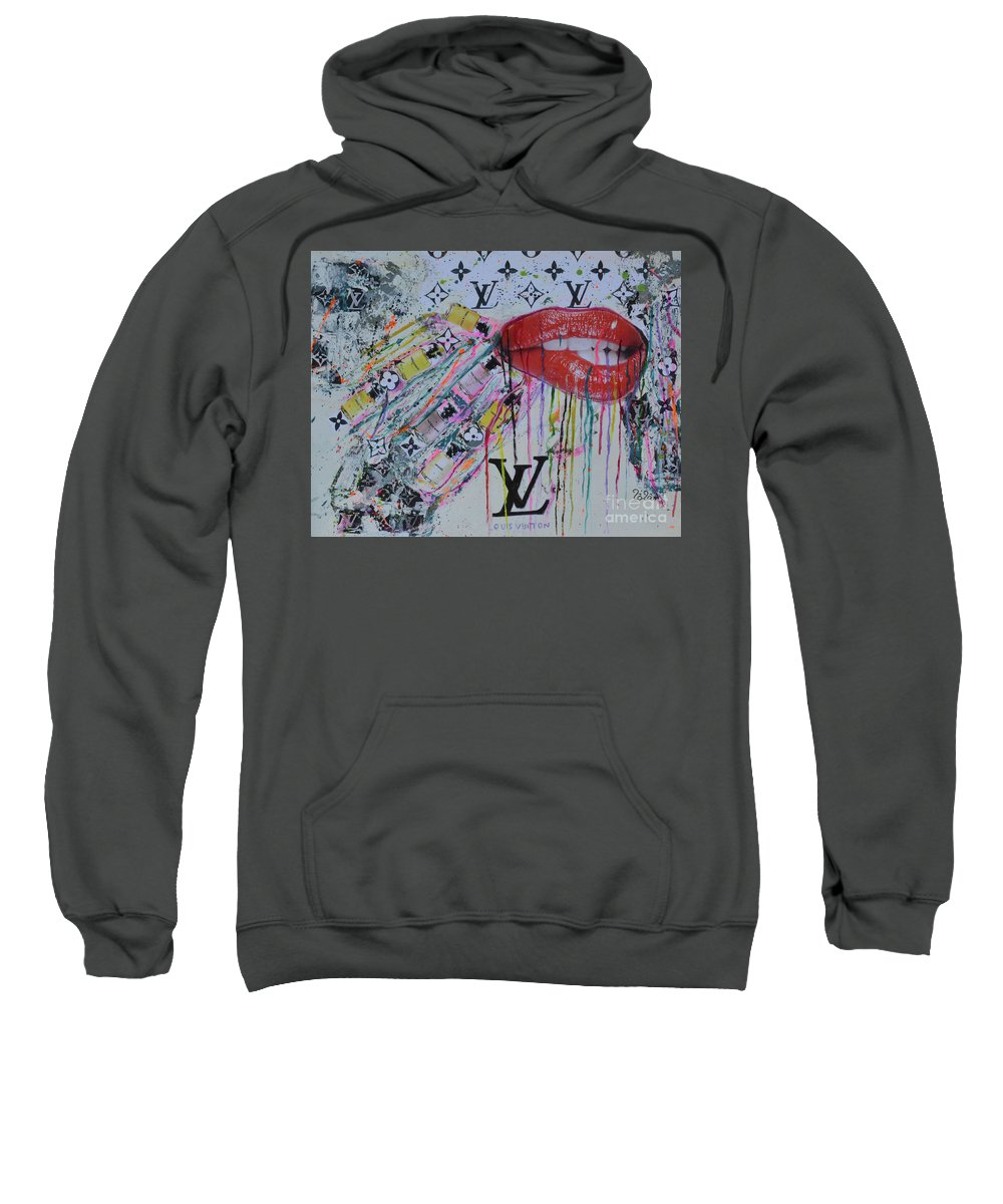 41c5fe4a56f3 Louis Vuitton Sweatshirt featuring the painting Louis Vuitton The  Magnificent Seven 3 by To-Tam