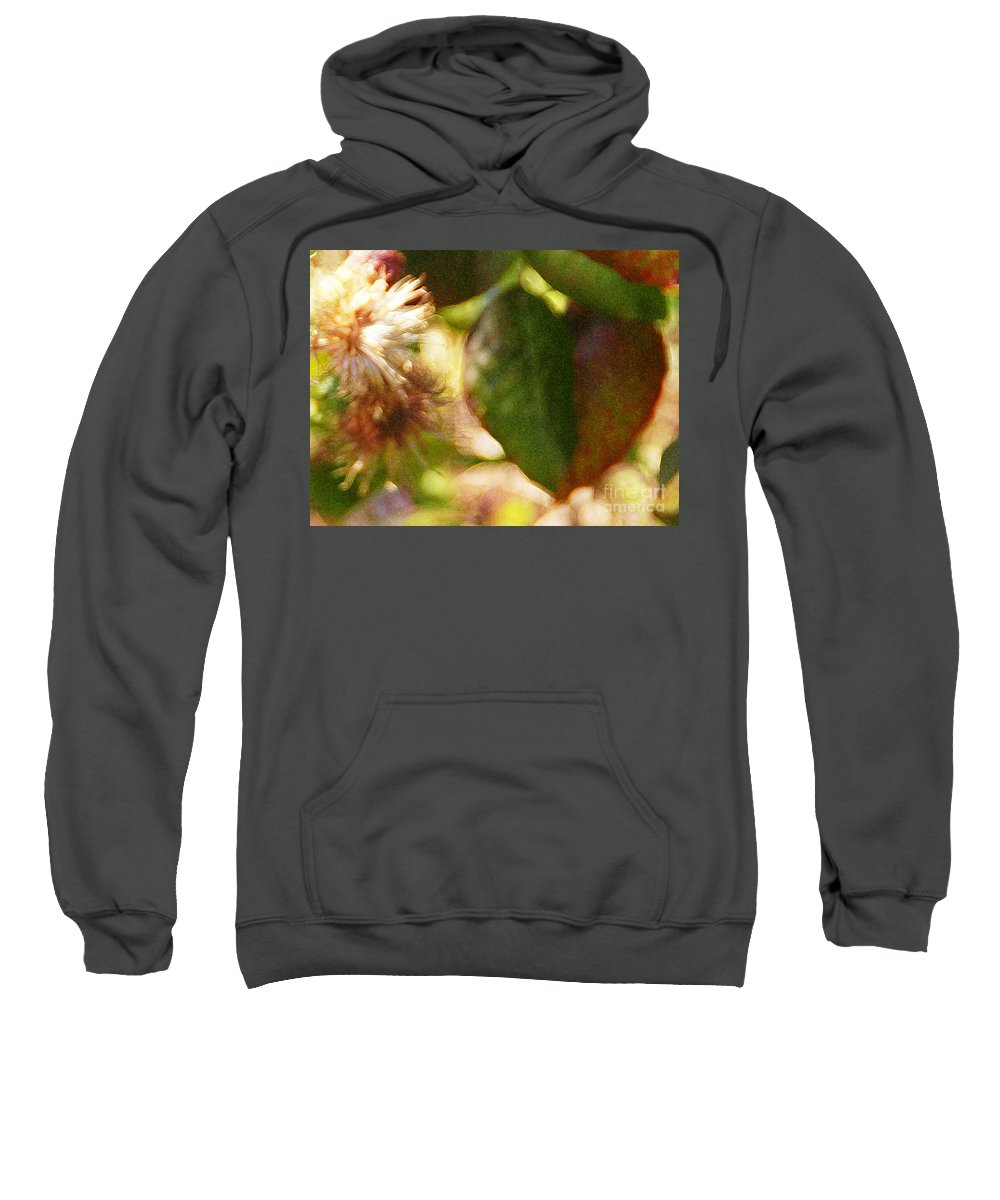 Wildflower Sweatshirt featuring the photograph Love Notes by Linda Shafer