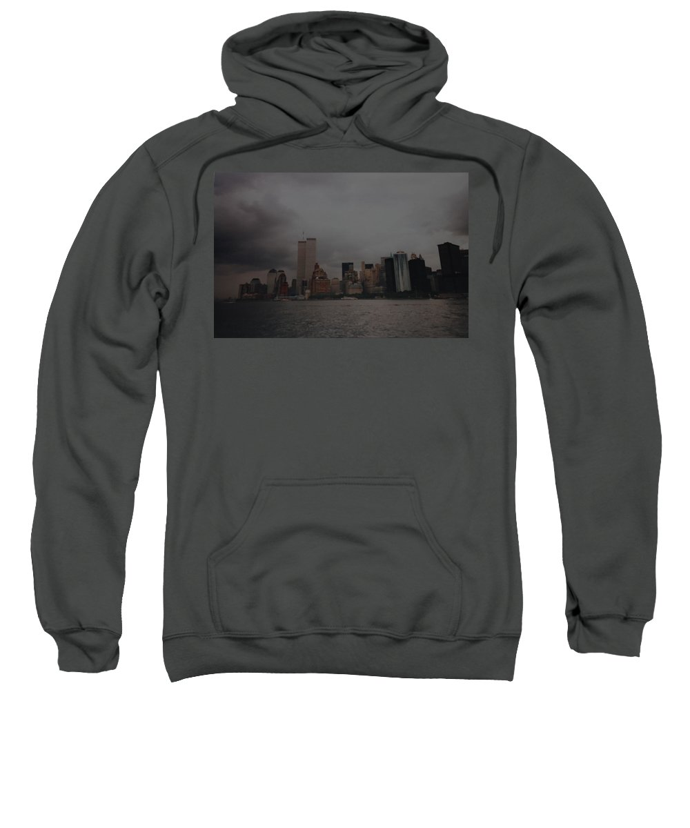 Wtc Sweatshirt featuring the photograph Lower Manhattan by Rob Hans