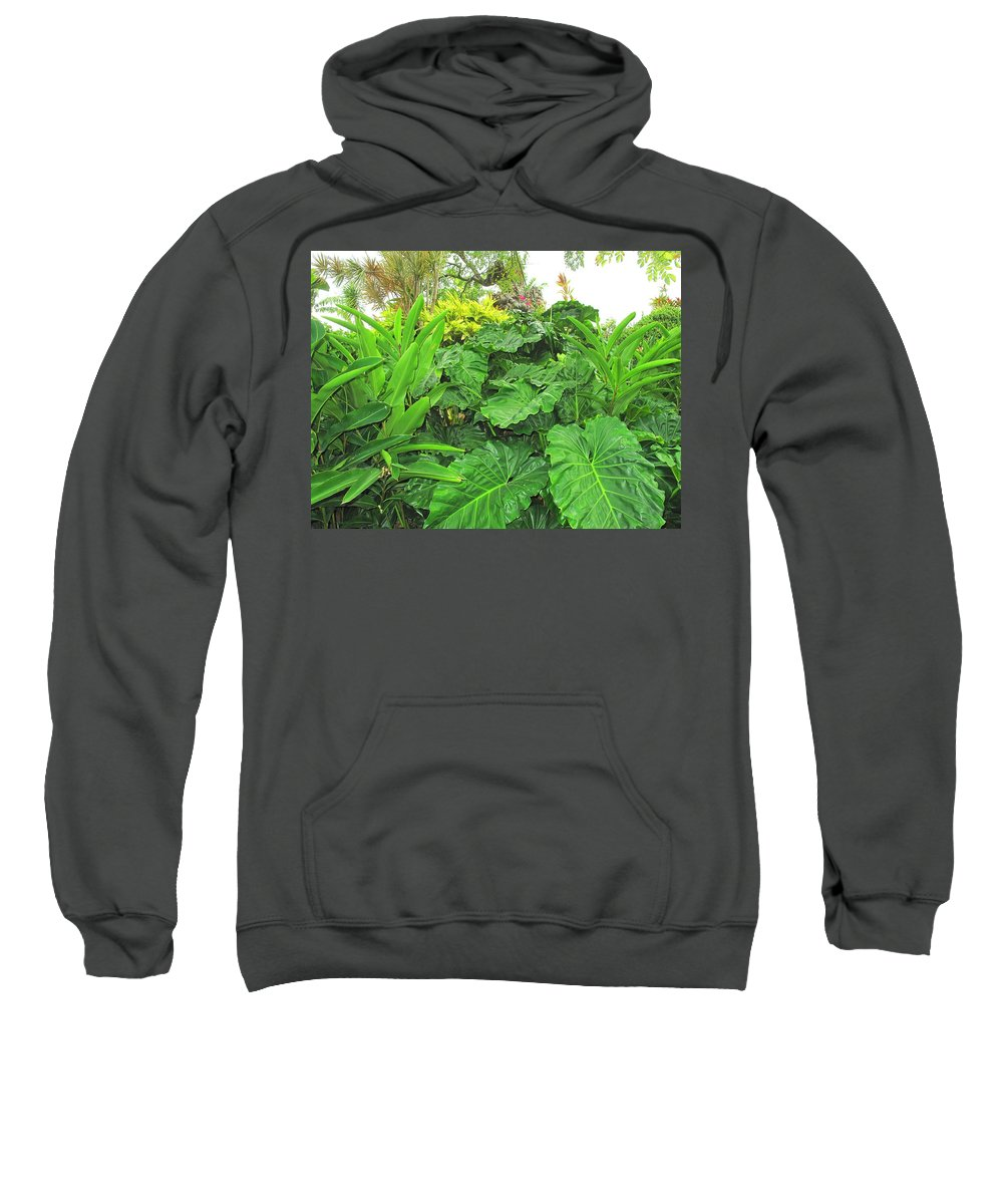 Vegetation Sweatshirt featuring the photograph Lust Too by Ian MacDonald