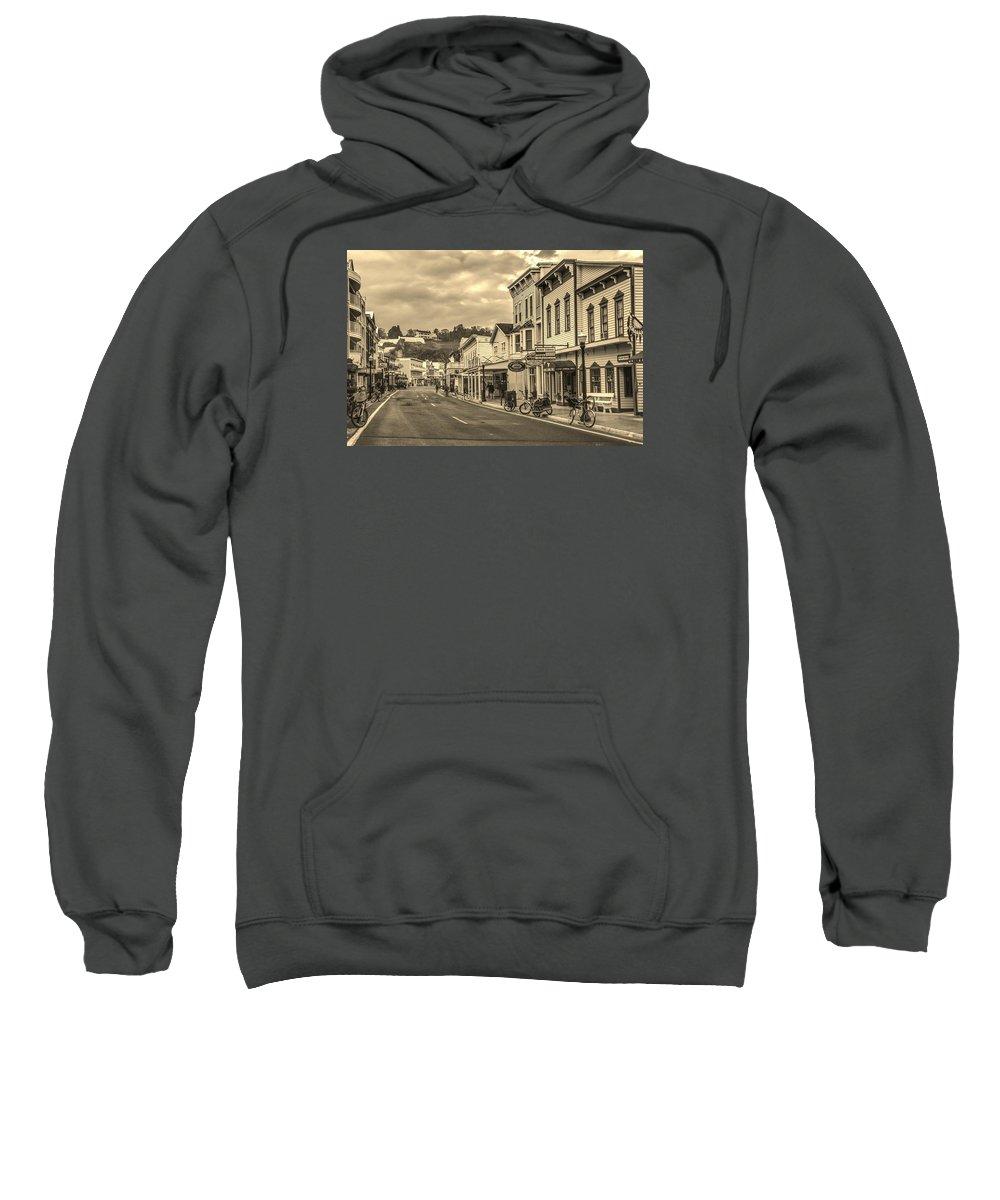Mackinac Island Sweatshirt featuring the photograph Mackinac Island by Ina Kratzsch