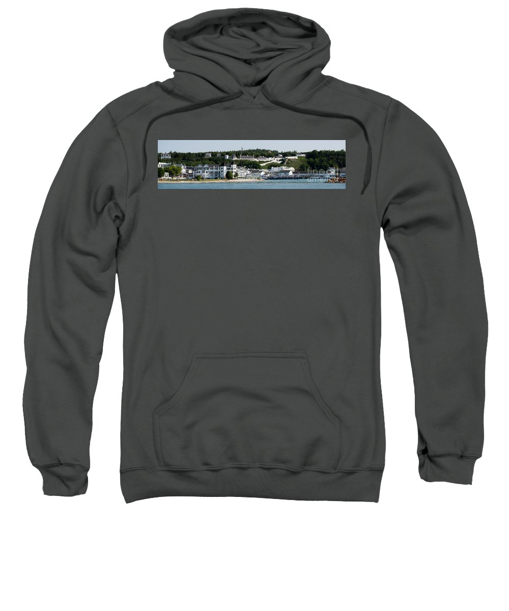 Mackinac Sweatshirt featuring the photograph Mackinac Island by Wesley Farnsworth