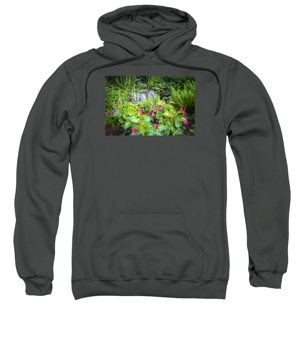 Cheekwood Sweatshirt featuring the photograph Macro Forest by Will Akers