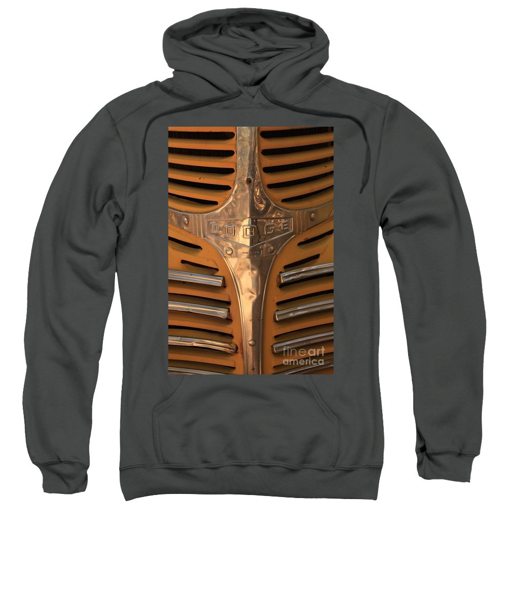 Dodge Sweatshirt featuring the photograph Made In Usa by Carol Groenen