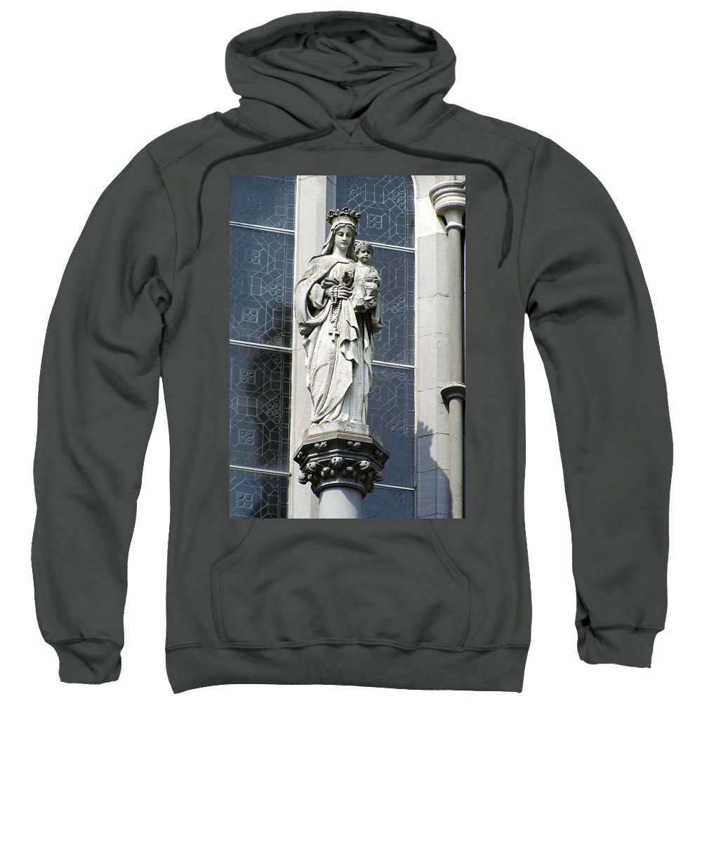 Ireland Sweatshirt featuring the photograph Madonna And Child by Teresa Mucha