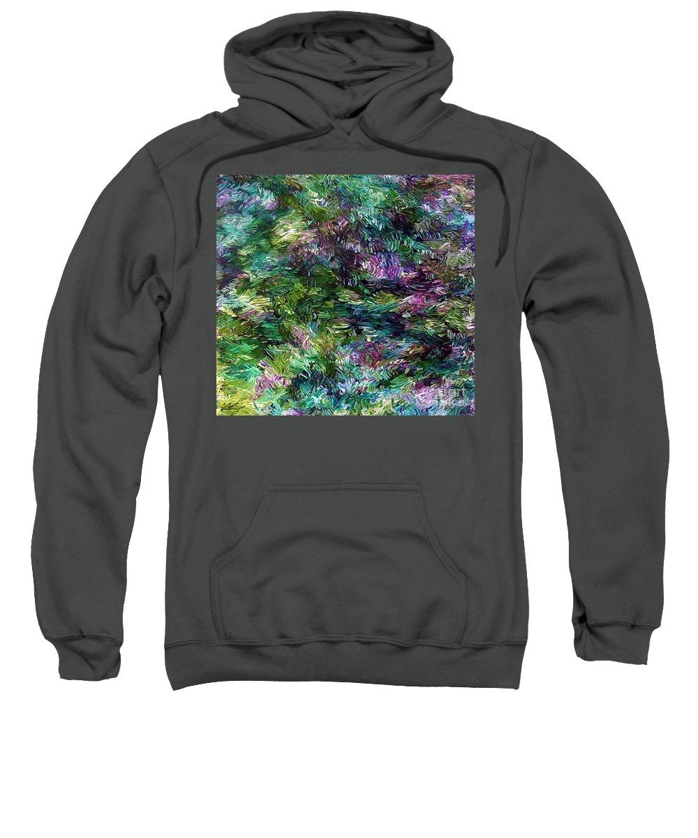 Magic Sweatshirt featuring the painting Magic by Dawn Hough Sebaugh