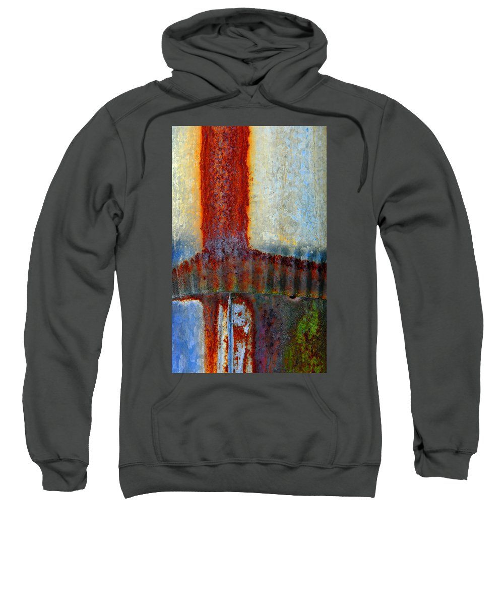 Skip Hunt Sweatshirt featuring the photograph Magma by Skip Hunt