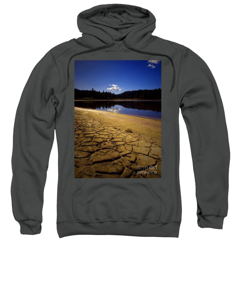 Mahoney Sweatshirt featuring the photograph Mahoney Lake by Tara Turner