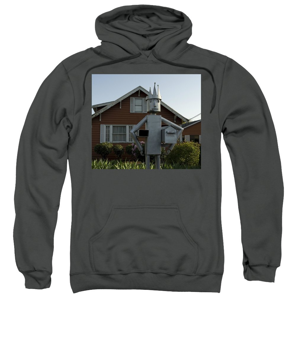 Mail Sweatshirt featuring the photograph Mailbox King by Sara Stevenson