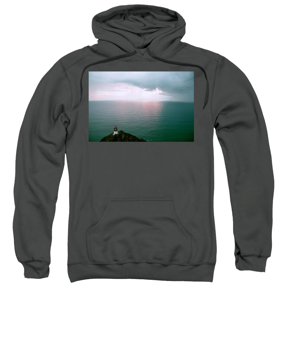Hawaii Sweatshirt featuring the photograph Makapuu Lighthouse by Kevin Smith