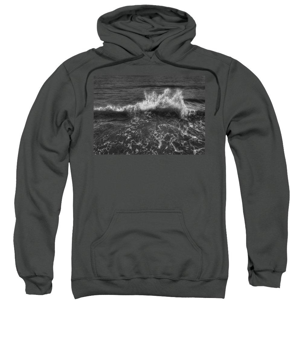 Water Sweatshirt featuring the photograph Make A Splash by Evelina Kremsdorf