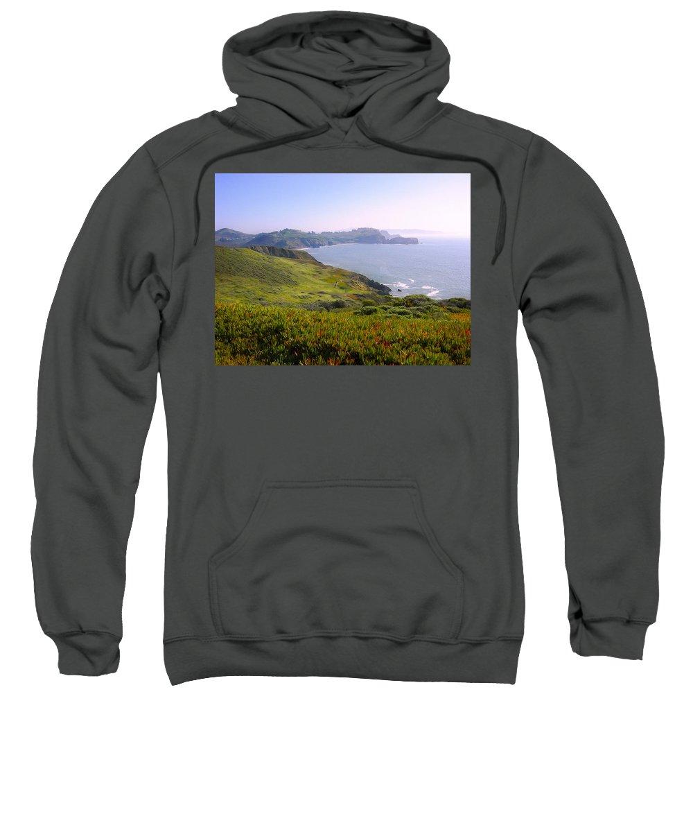 Landscape Sweatshirt featuring the photograph Marin Headlands 2 by Karen W Meyer