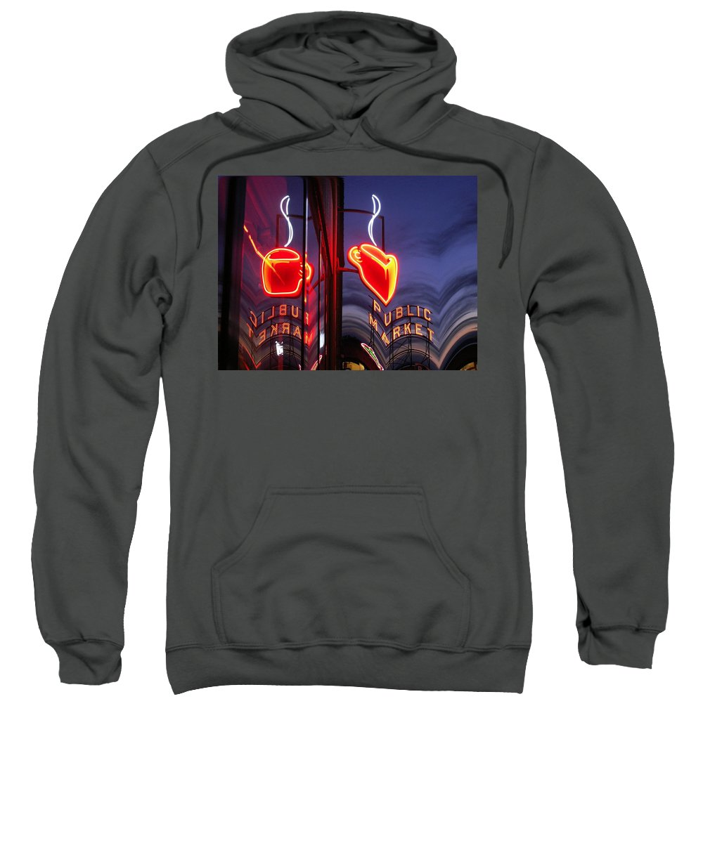 Seattle Sweatshirt featuring the photograph Market Cup 2 by Tim Allen