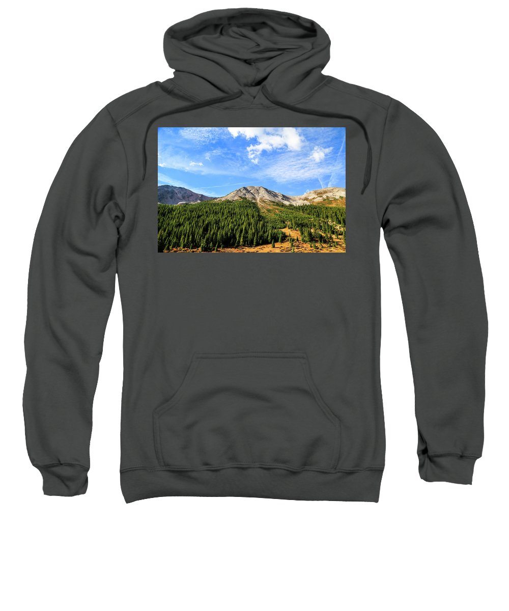 Aspen Sweatshirt featuring the photograph Marvel by Lisa Scammell
